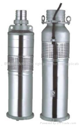 QYF型全不鏽鋼充油式潛水泵 1
