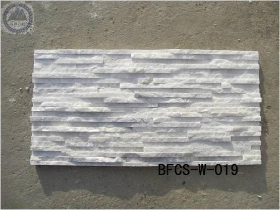 White Decorative Stones : White decorative wall cladding stone bfcs baofeng