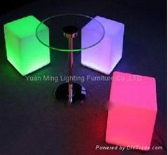 LED chair set