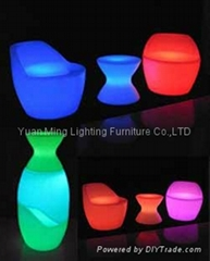 LED lighting furniture,LED stool