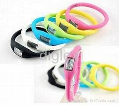 fashion silicone watch wristband