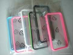 High quality Silicone Bumper for iphone 4