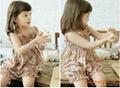 Children's Dresses girl dress little flower dress + short as a set Dec.finished 3