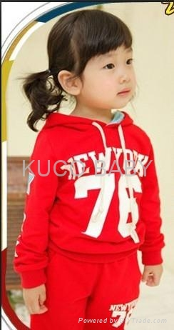 Letter Sporty Hoody Set!2012 Autumn New Baby Suits Free Shipping 5sets/lot Boys  2