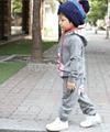 Promotions! girls boys cartoon Ox clothing sets clothes set autumn 2pcs suits 4