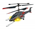 3.5-ch rc Missile Shooting helicopter with gyro