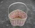 心形木片篮子