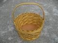 圆形木片篮子