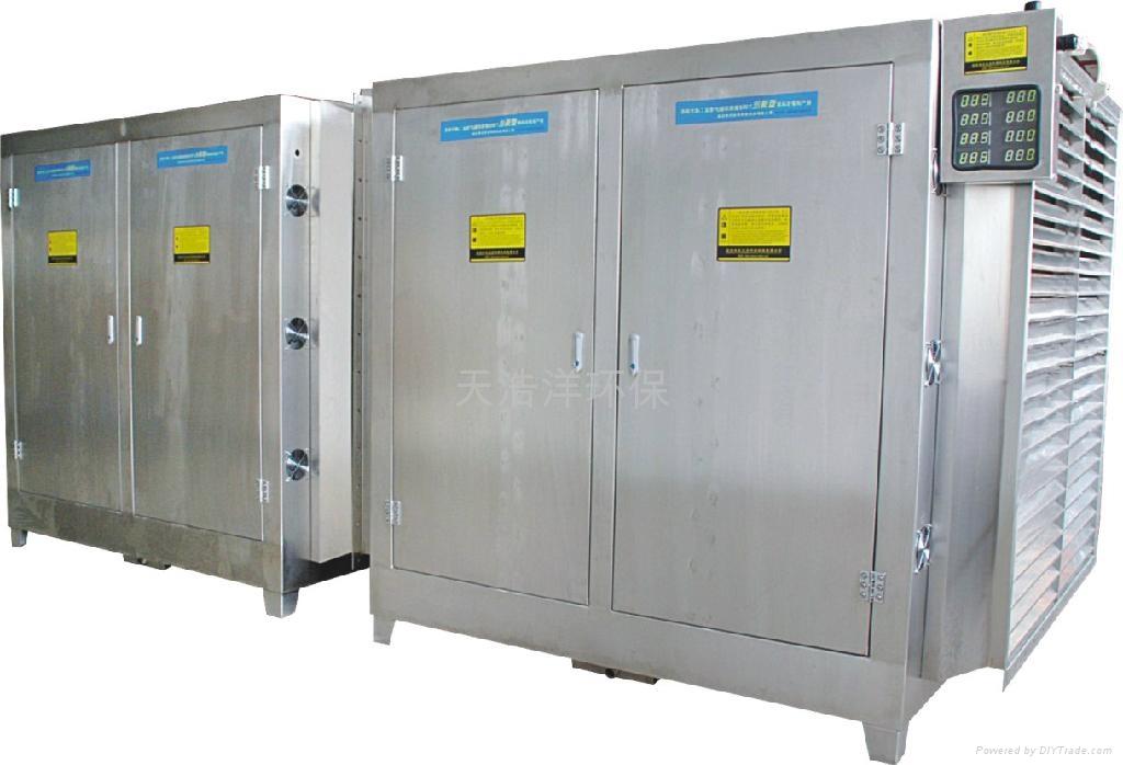 污水处理厂除臭UV光解净化设备 2