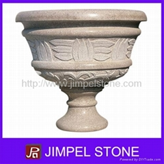 Natural Stone Garden Flower Pot