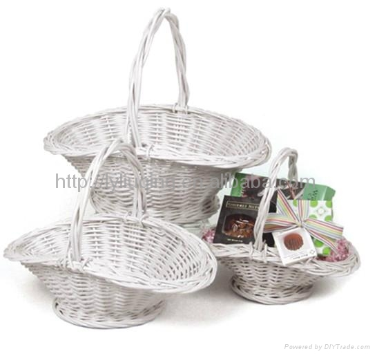 Wicker flower baskets manufacturers : Wicker basket for flower lq liuqing china