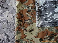 Fire resistant camouflage fabric