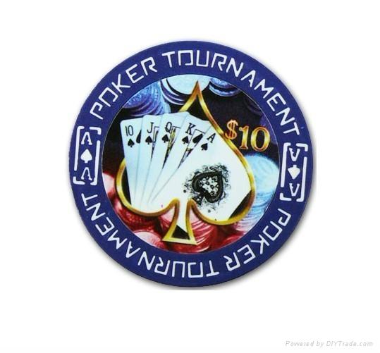poker chip  1