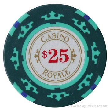 poker chips, Royale casino chips 1