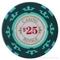 poker chips, Royale casino chips