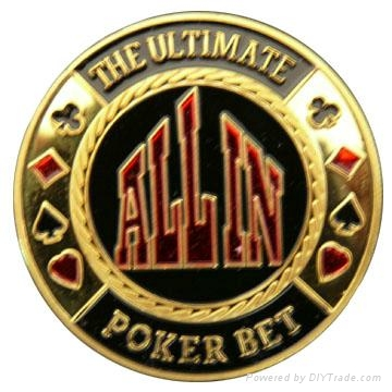 metal poker chips 1