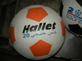rubber football 5