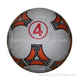 rubber soccer ball 1