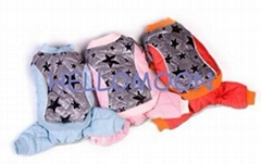 Stars cotton-padded jacket