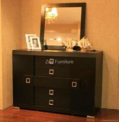 the modern hotel bedroom furniture VE-2808