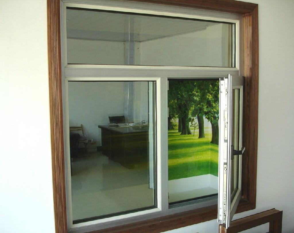 Thermal break and soundproof aluminum casement window for Window manufacturers