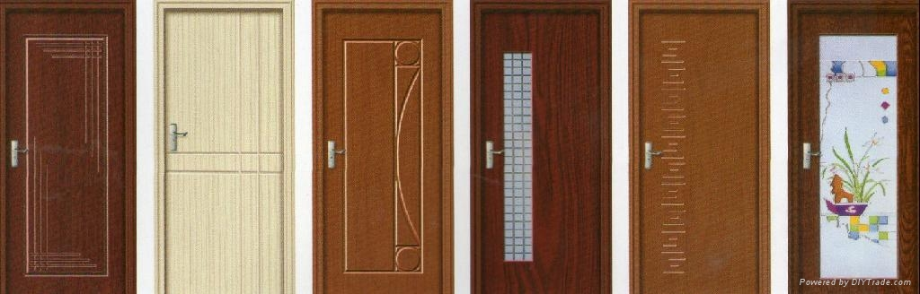 Interior Non Paint Pvc Bathroom Door Hl 915 Sendpro China Manufacturer Other Doors