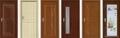 Interior Non Paint PVC Bathroom Door 2