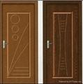 Interior Non Paint PVC Bathroom Door 1