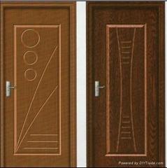 Interior Non Paint PVC Bathroom Door