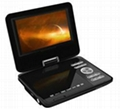 newest portable dvd player with 7 inch