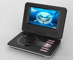7 inch hot sale portable dvd player with tv tuner