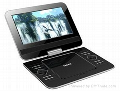 hot sale 9 inch portable dvd player with full function