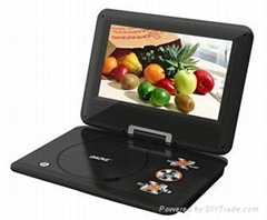 high quality portable dvd player with 10.1 inch widescreen