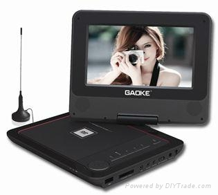 flying portable dvd player with tv tuner 1