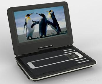 Newest 9 inch portable dvd players 1