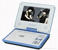 cheap 7 inch portable dvd player with tv tuner 1