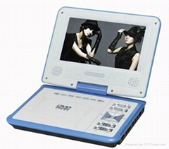 cheap 7 inch portable dvd player with tv tuner
