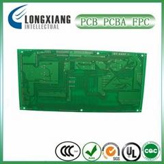 Lead-free HASL 2-Layer pcb, LPI solder mask pcb