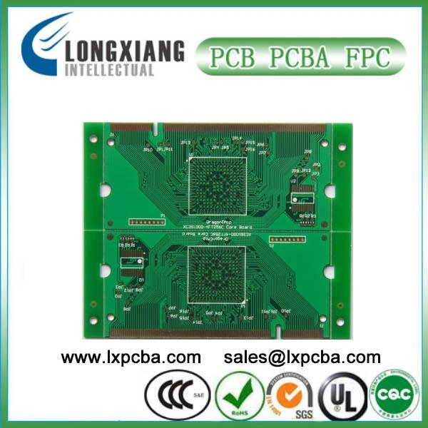 Blue mask 2-layer pcb factory 1