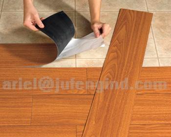 Self stick Vinyl Floor Tiles - self stick tile (China Manufacturer ...