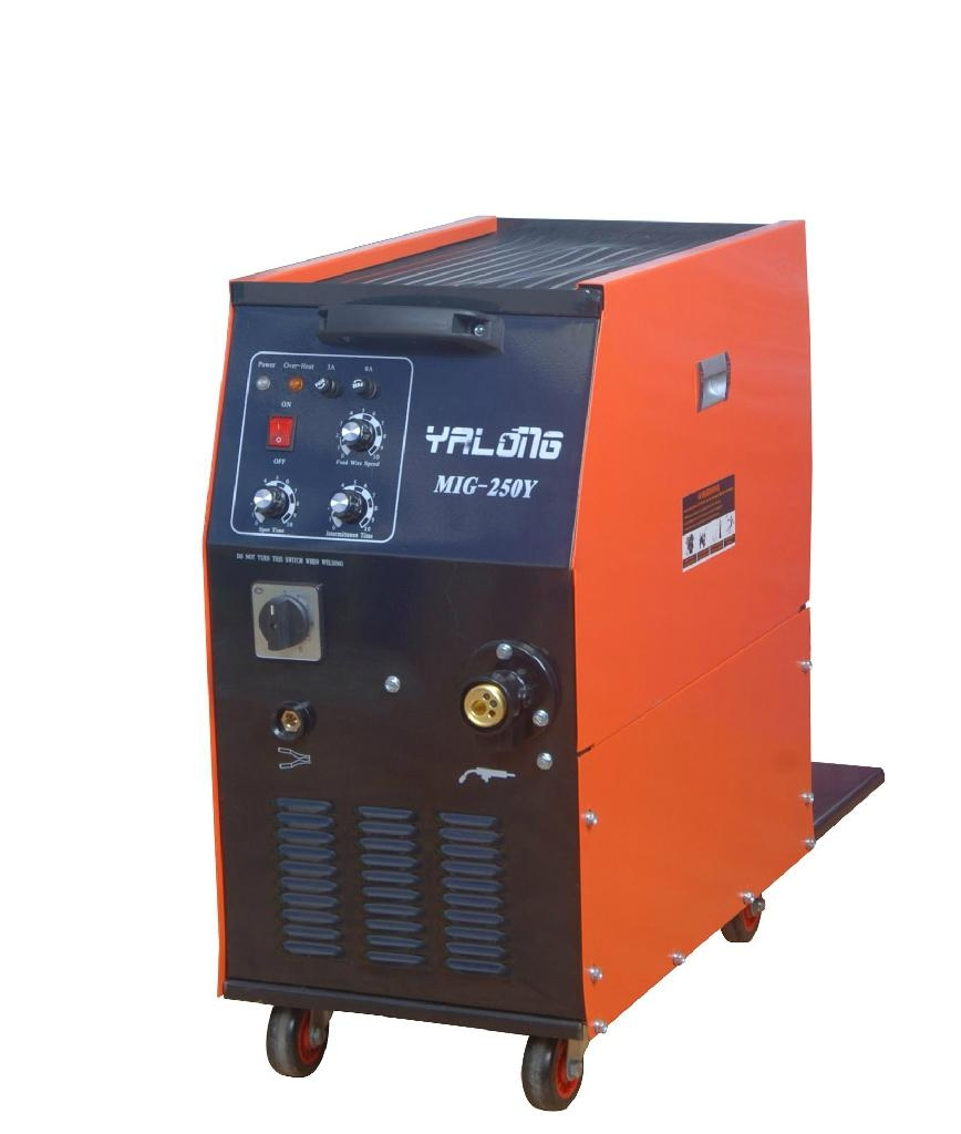 Mig Welding Machine Mig 250 Yalong China Manufacturer