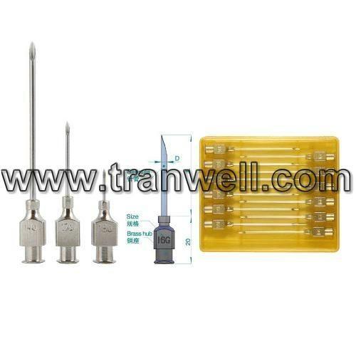 18mm Copper Rectangle Hub Needles 1