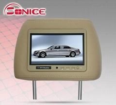 """7"""" car TFT LCD headrest"""