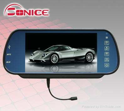 7inch Rearview Mointor with Touch Key 3