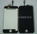 iPod touch 4 lcd with touch screen digitizer black