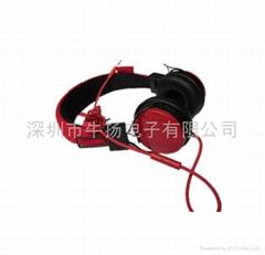 编织线音乐耳机