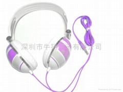 头戴式电脑耳机