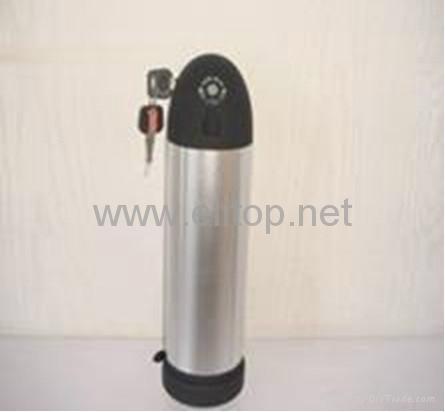 36V9Ah電動自行車鋰電池組(水壺電池) 1