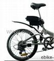 36V11Ah小青蛙款電動自行車鋰電池組 2