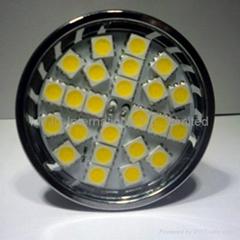 3.5W GU10 24PCS SMD5050 Dimmable LED Spotlight